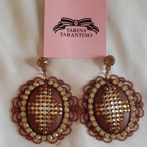 Authentic Tarina Tarantino earrings